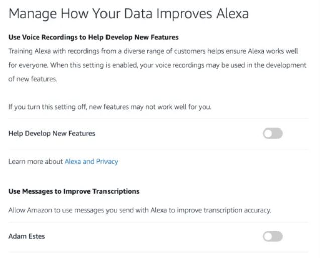 The Alexa privacy problem nobody wants to solve