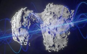 Comet P67: Bizarre 'alien' sounds emanating from Comet 67P have stunned conspiracy theorists (Image: ESA/Getty)