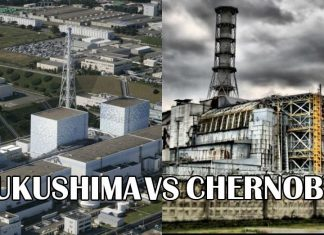 Directly comparing Fukushima to Chernobyl nuclear disasters