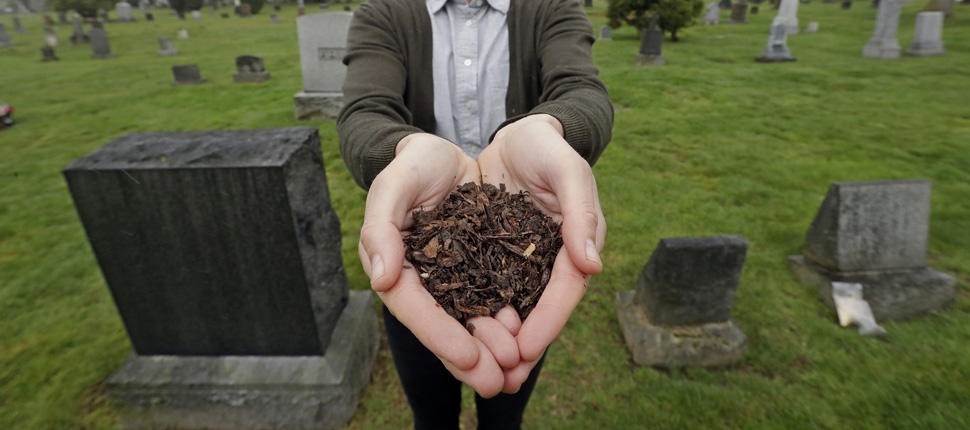 human composting washington, human composting washington video, human composting washington may 21 2019, Washington becomes first U.S. state to legalize human composting as alternative to burial/cremation
