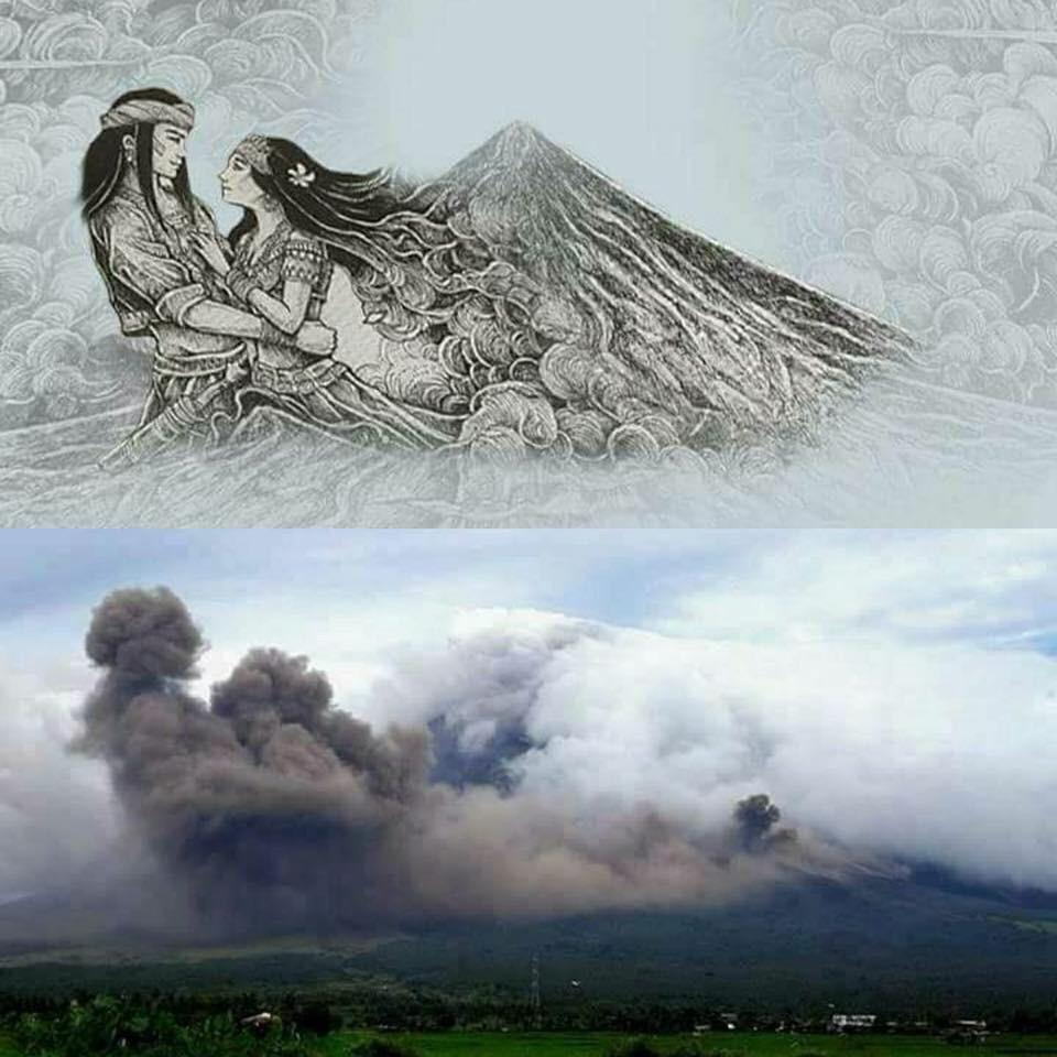 The Legend of the Mayon Volcano Panganoron & Magayon