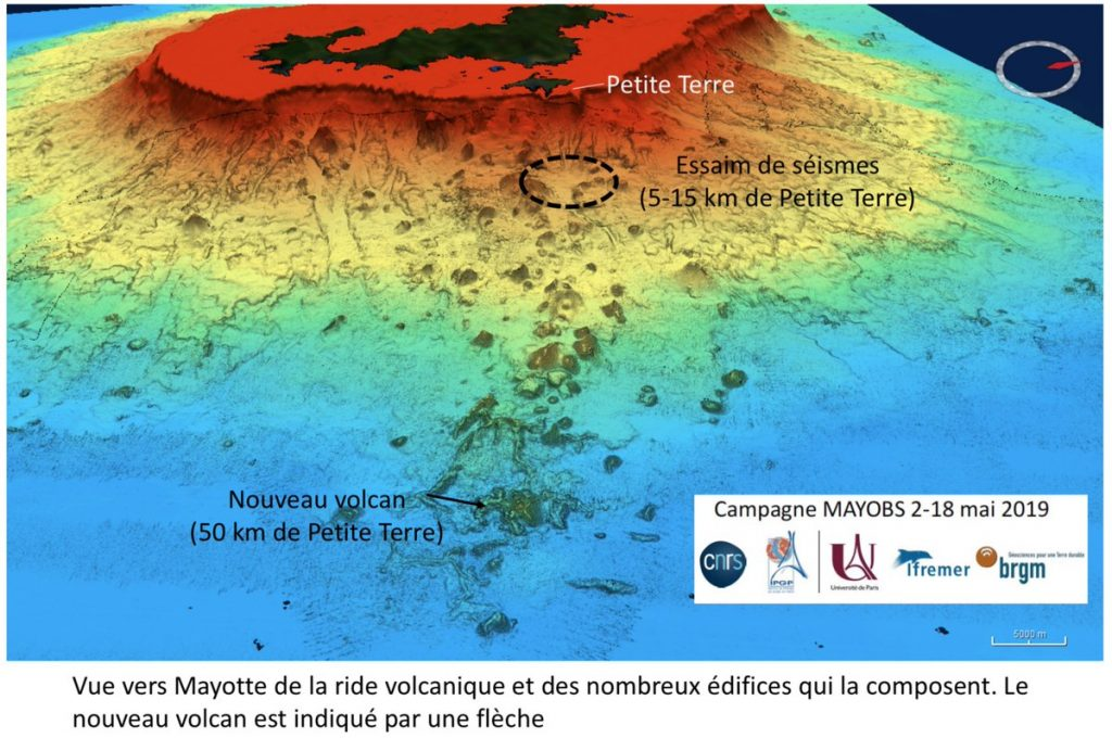 mayotte new volcano seismic swarm