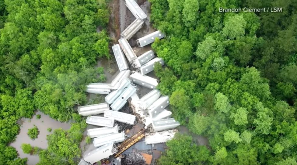 mississippi train derailment may 11 2019