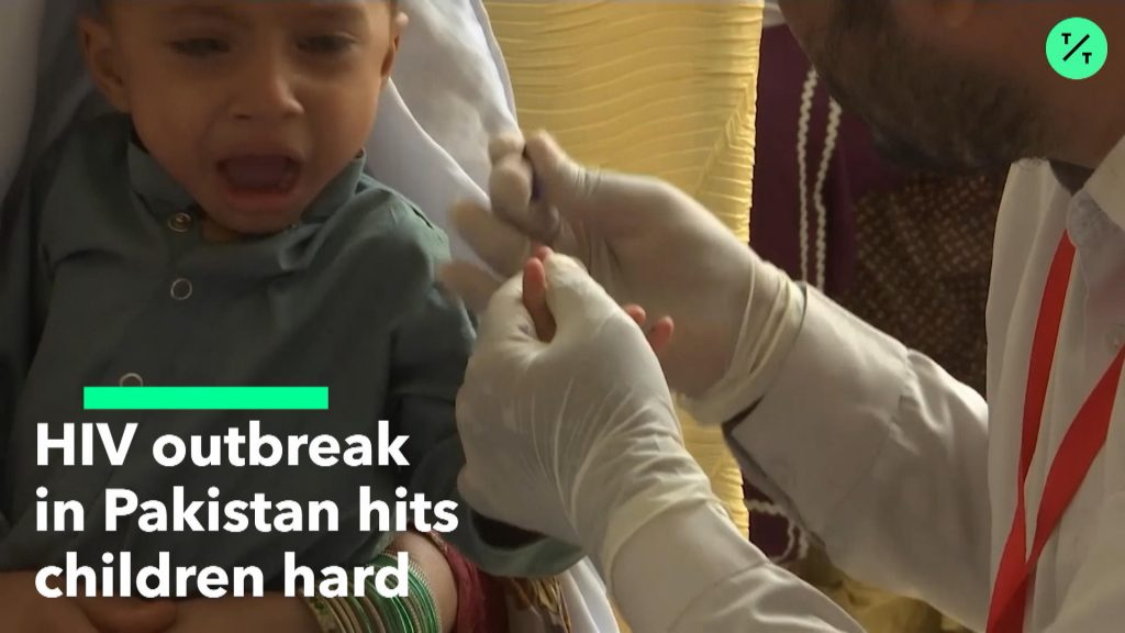 HIV Outbreak Hits Pakistan Children, pakistan hiv children