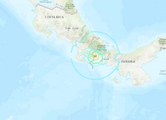 M6.1 panama earthquake costa rica may 12 2019