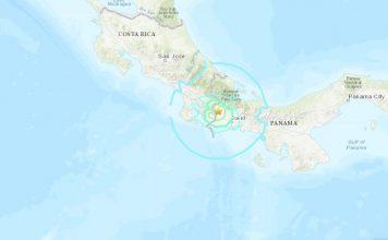 M6.1 panama earthquake costa rica may 12 2019