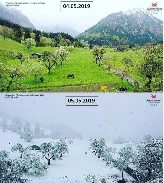 polar vortex cold europe, snow iun may in europe, polar vortex engulfs europe may 2019