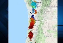 small tremors along west coast could lead to cascadia big one, cascadia slow slip event, numerous earthquakes us west coast