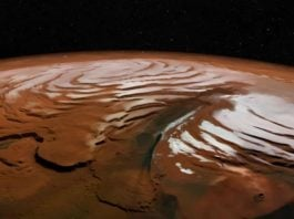 water reservoir mars north pole, A huge water reservoir has been discovered beneath the Martian North Pole