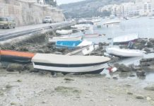malta tsunami, malta tsunami atmospheric, malta atmospheric tsunami, 'Atmospheric tsunami' strikes Malta's east coast for an hour