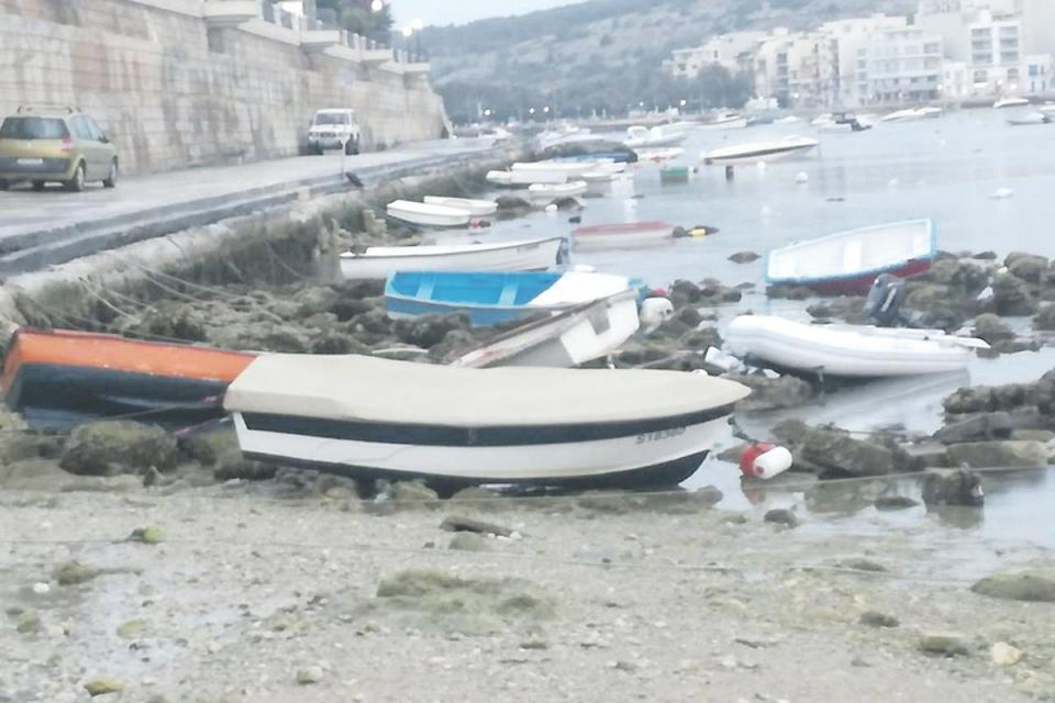 malta tsunami, malta tsunami atmospheric, malta atmospheric tsunami, 'Atmospheric tsunami' strikes Malta's east coast for an hour