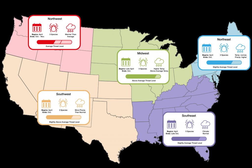 2019 tick forecast USA, 2019 tick forecast map, 2019 tick forecast, 2019 tick forecast video