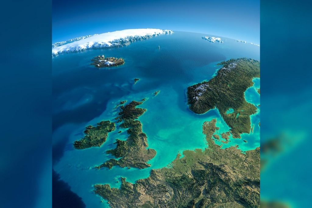 British Atlantis discovered in the North Sea