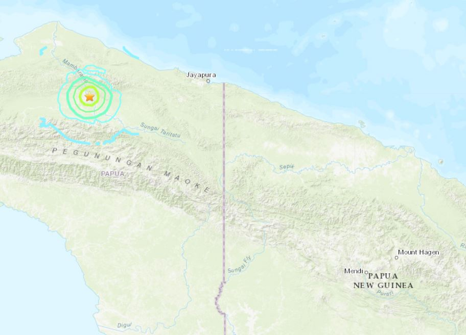M6.1 earthquake Indonesia june 24 2019