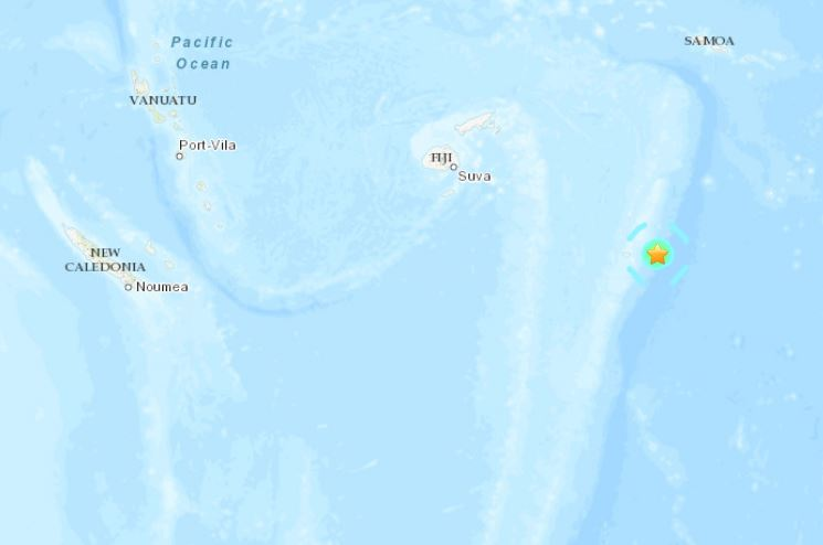 M6.1 earthquake tonga june 15 2019, M6.1 earthquake hit off Tonga on June 15 2019