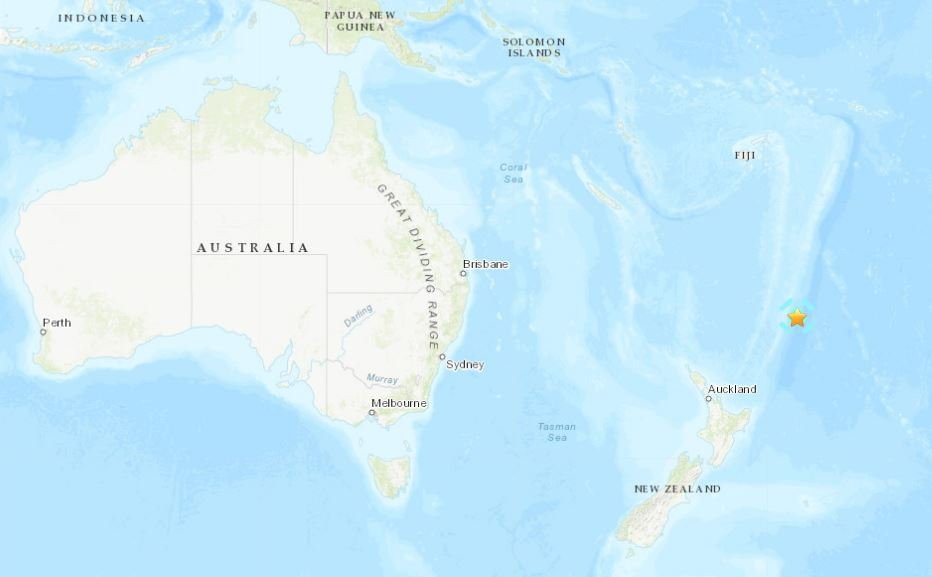 M6.2 earthquake new zealand esperance rock june 21 2019, M6.2 earthquake new zealand esperance rock june 21 2019 map, M6.2 earthquake new zealand esperance rock june 21 2019 video