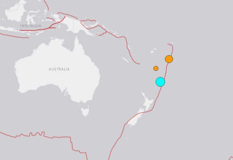 M7.2 earthquake new zealand tsunami warning