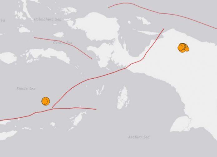 M7.3 earthquake and M6.1 earthquake hit Indonesia june 24 2019