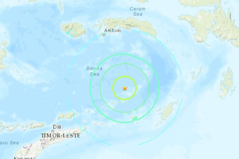 M7.3 earthquake hits Indonesia june 24 2019
