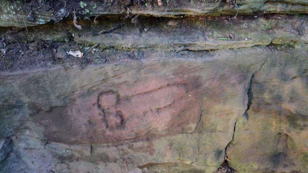 ancient penis graffiti hadrian wall archeology uk, ancient penis graffiti hadrian wall archeology uk picture