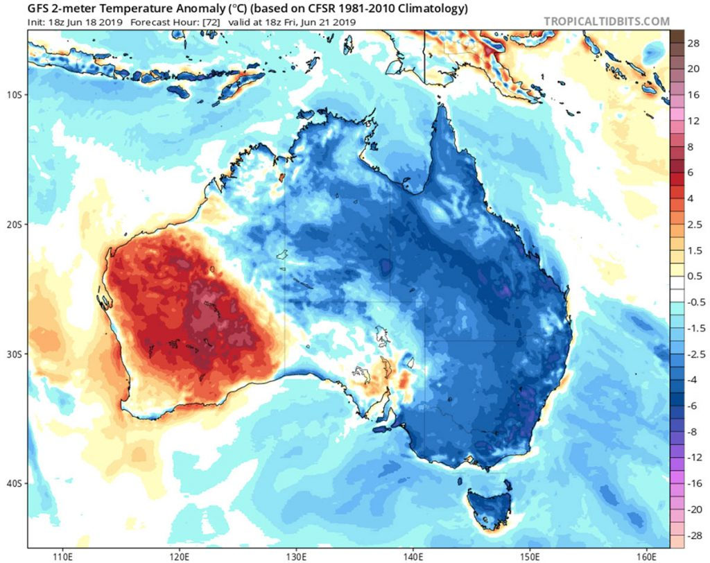 australia freezing weather, australia cold temperatures, australia cold winter