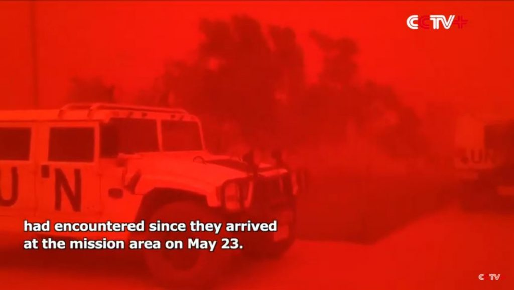 Blood red sandstorm engulfs UN base in Mali, Blood red sandstorm engulfs UN base in Mali video, Blood red sandstorm engulfs UN base in Mali pictures, Blood red sandstorm engulfs UN base in Mali june 2019