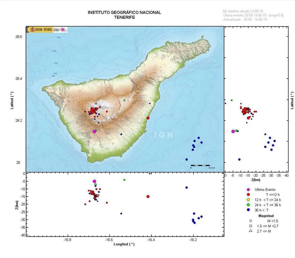 earthquake swarm teide tenerife, earthquake swarm teide tenerife map, earthquake swarm teide tenerife video, earthquake swarm teide tenerife picture, More than 500 earthquakes hit the Teide volcano on Tenerife, Canary Islands