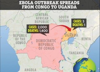 Ebola outbreak spreads from Congo to Uganda, Ebola outbreak spreads from Congo to Uganda map, Ebola outbreak spreads from Congo to Uganda video