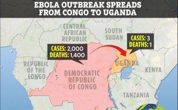 Ebola outbreak spreads from Congo to Uganda, Ebola outbreak spreads from Congo to Uganda map, Ebola outbreak spreads from Congo to Uganda video