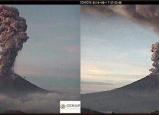 popocatepetl eruption june 17 2019, popocatepetl eruption june 17 2019 video, popocatepetl eruption june 17 2019 picture