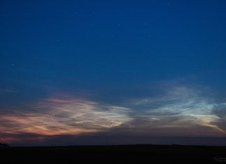 red noctilucent clouds, red noctilucent clouds poland, red noctilucent clouds europe, red noctilucent clouds june 2019