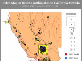 10000 earthquakes california july 2019, california earthquakes, seismic unrest california july 2019