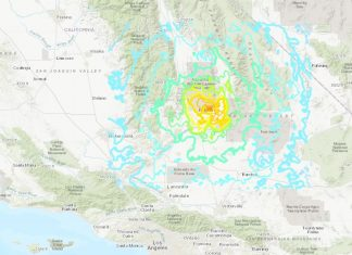 A strong and shallow M6.4 earthquake hit Southern California on July 4 2019, A strong and shallow M6.4 earthquake hit Southern California on July 4 2019 video, A strong and shallow M6.4 earthquake hit Southern California on July 4 2019 pictures, A strong and shallow M6.4 earthquake hit Southern California on July 4 2019 news, A strong and shallow M6.4 earthquake hit Southern California on July 4 2019 update