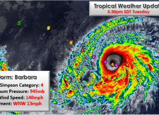 Major hurricane Barbara on its way to Hawaii, Major hurricane Barbara on its way to Hawaii video, Major hurricane Barbara on its way to Hawaii pictures, barbara hurricane july 2019