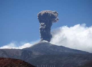 etna, etna eruption, etna eruption july 2019, Etna volcanic eruption on July 2 2019