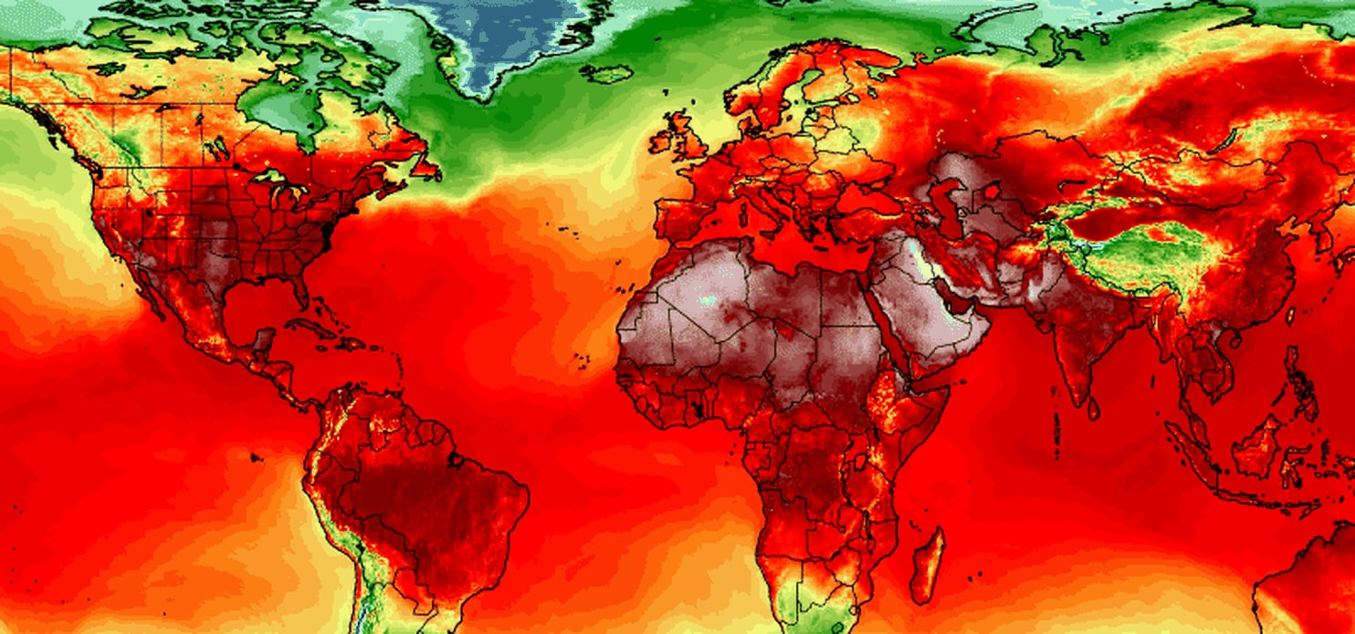 Heat wave hits USA Canada and Europe in July 2019 - Strange ...