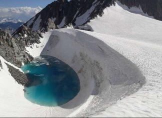 lake pops up mont blanc 3000 meters altitude, lake pops up mont blanc 3000 meters altitude picture, lake pops up mont blanc 3000 meters altitude video