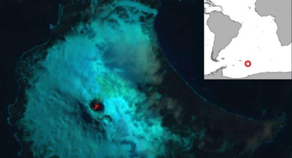 lava lake, Lava lake South Sandwich Islands, Lava lake South Sandwich Islands antarctica, Lava lake South Sandwich Islands july 2019