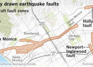 Fault lines in Los Angeles, LA fault lines, Fault lines in Los Angeles Los Angeles earthquake faults