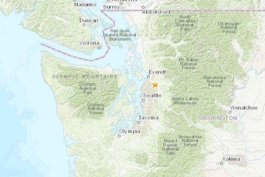 Seattle earthquake in July 2019, Seattle earthquake in July 2019 map, Seattle earthquake in July 2019 video, Seattle earthquake in July 2019 july 2019