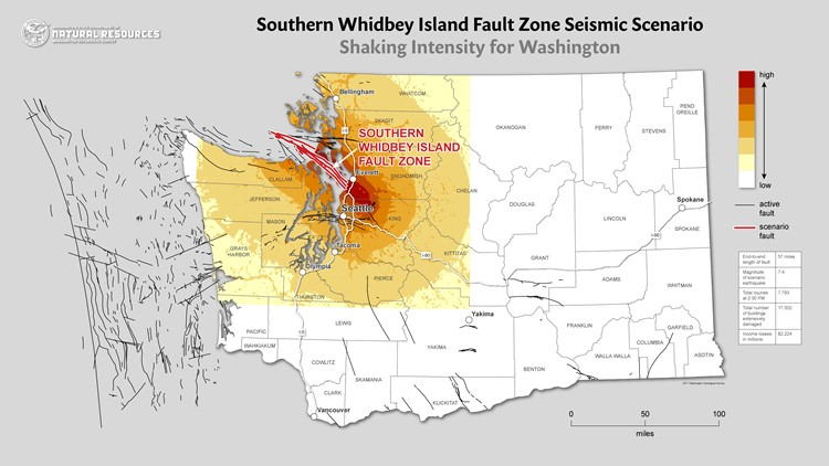 seattle major earthquake threat southern whidbey island fault, seattle major earthquake threat seattle fault, seattle fault, most dangerous earthquake faults in seattle, dangerous seattle fault earthquake