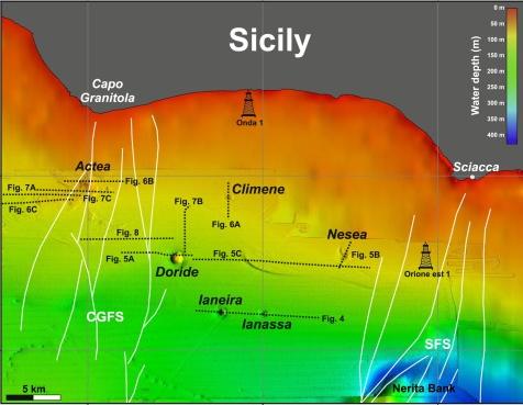6 underwater volcanoes discovered off Sicily 1 ¡increíble! Seis volcanes submarinos descubiertos recientemente a pocos kilómetros de Sicilia, Italia