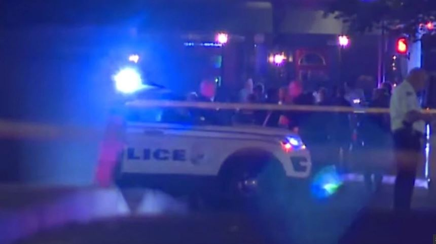 Dayton shooting video, New video shows Dayton police officers run toward fire and shoot gunman