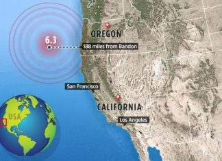 M6.3 earthquake off Oregon coast on August 29 2019, M6.3 earthquake off Oregon coast on August 29 2019 cascadia, cascadia earthquake august 2019, M6.3 earthquake off Oregon coast on August 29 2019 map