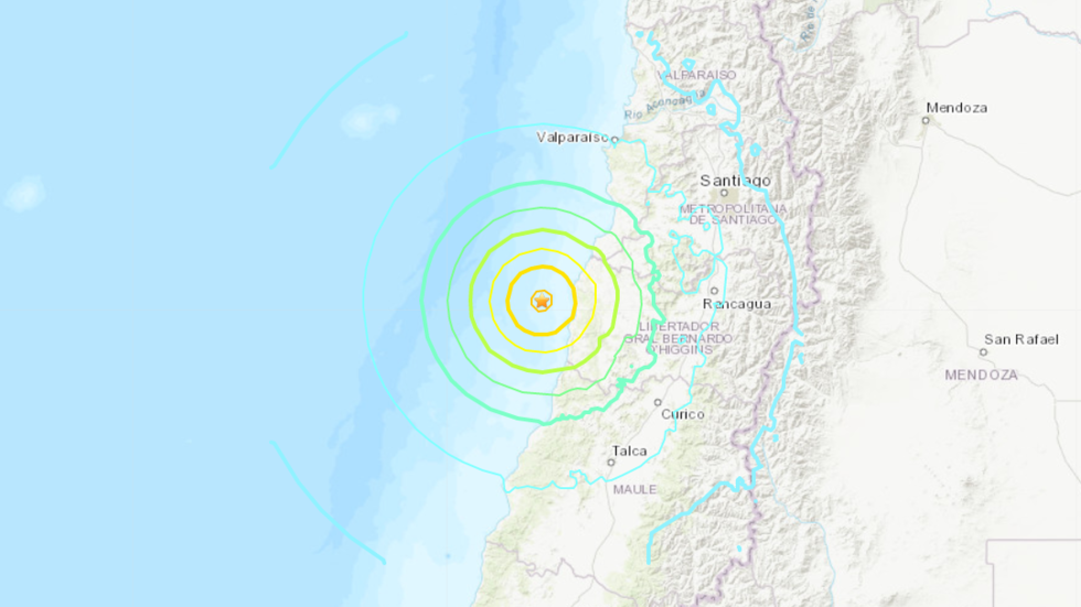 M6.8 earthquake Chile August 1 2019, A strong and shallow M6.8 earthquake hit off central Chile on August 1 2019, M6.8 earthquake Chile August 1 2019 video, M6.8 earthquake Chile August 1 2019 map, M6.8 earthquake Chile August 1 2019 pictures