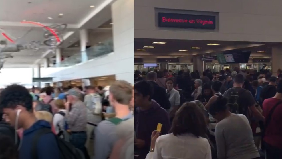 Thousands of ravelers stranded as nationwide outage impacts US Customs and Border Protection