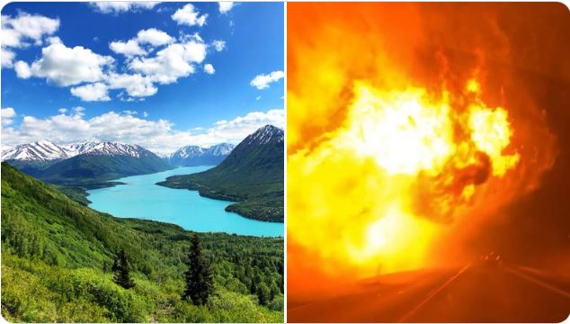 Swan Lake Fire, Swan Lake Fire video, Swan Lake Fire alaska, alaska fire, alaska fire 2019, fires alaska anchorage