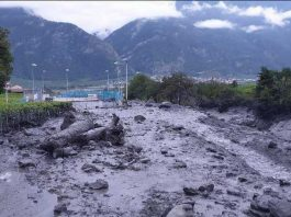chamoson flash floods, chamoson flash floodin, flash floods swiss alps video, Major flash flooding kills two in Chamoson Valais, Major flash flooding kills two in Chamoson Valais video