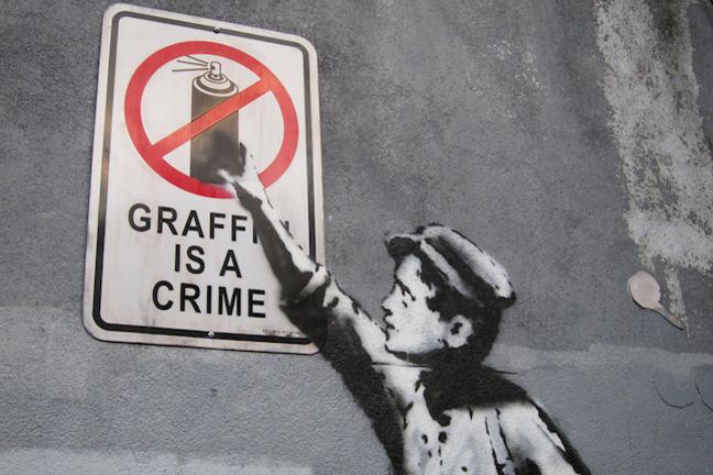 horrifying act of vandalism