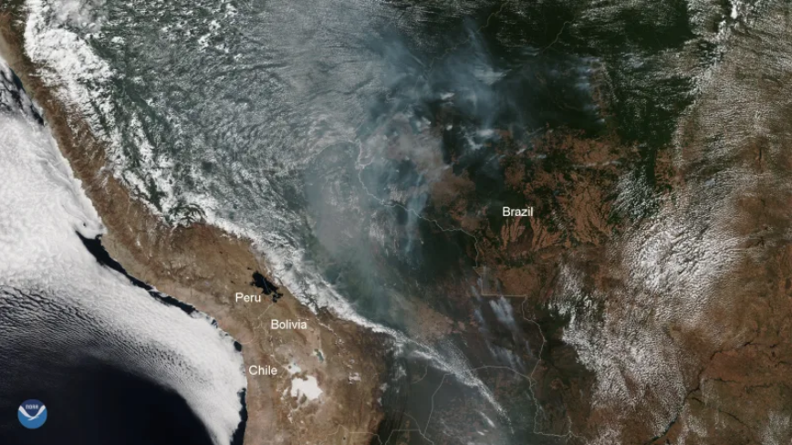 smoke from amazon wildfires seen from space satellites, smoke from amazon wildfires seen from space satellites video, smoke from amazon wildfires seen from space satellites photo, smoke from amazon wildfires seen from space satellites august 2019